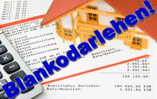 Sehr oft kommt es vor, daß ein Blankodarlehen schon ausreicht eine bestehende Baufinanzierung / Immobilienfinanzierung sofort zu reparieren!